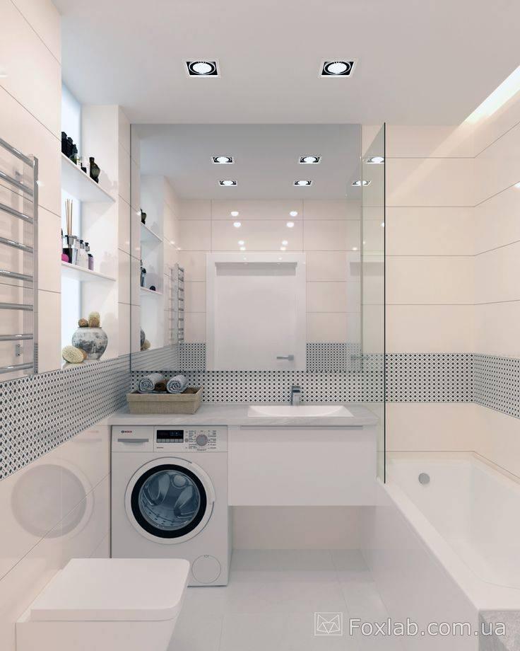 Ванная комната 3 кв. м. — 75 реальных фото идей дизайна