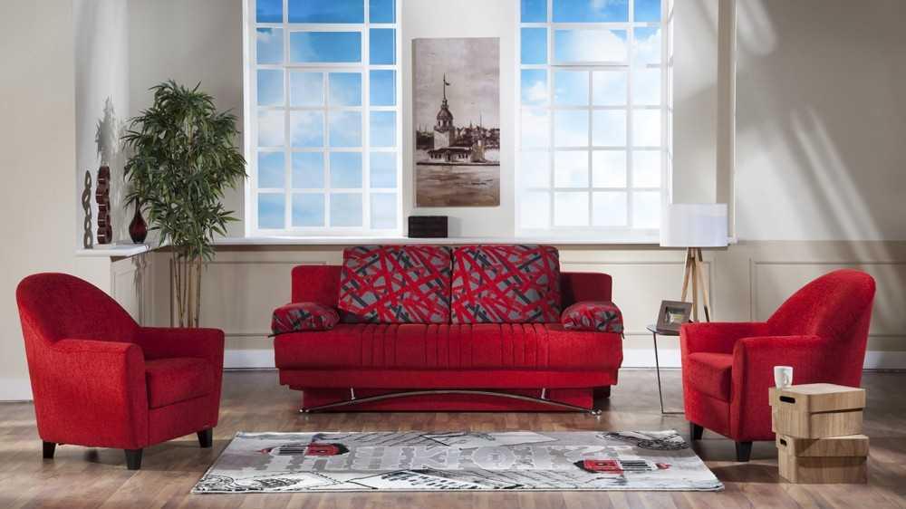 Красные диваны (57 фото): угловые диваны-кровати красного цвета и двухместные диваны-книжки, другие модели в интерьере. дизайн комнат