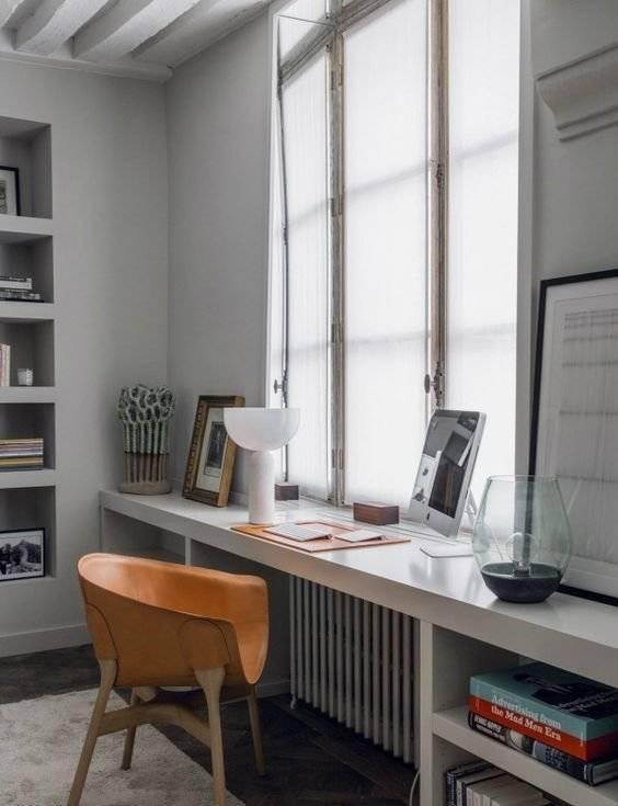 Подоконник-столешница на кухне – 70 фото и 12 практических советов