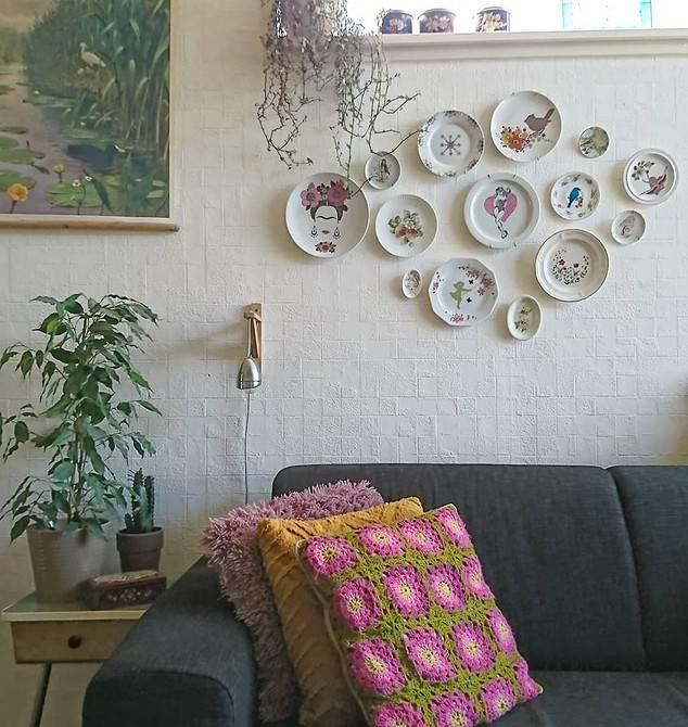 Роспись стен в интерьере: виды и способы украшения +75 фото