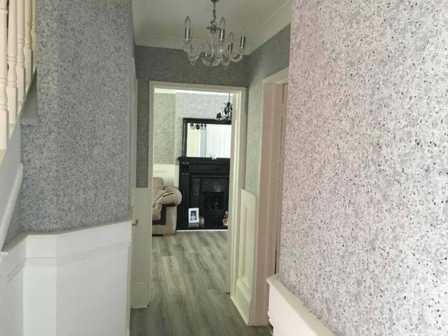 Жидкие обои в коридоре (52 фото): какие жидкие обои лучше выбрать для прихожей, дизайн интерьеров комнат в квартире