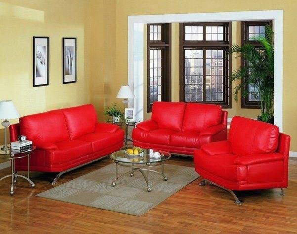 Выбор мягкой мебели по цвету