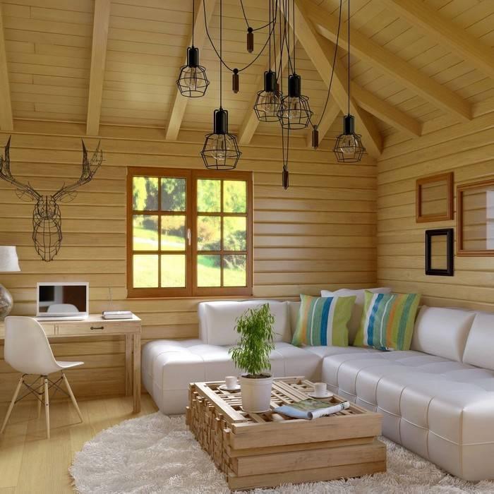 Интерьер дома (119 фото): красивые варианты отделки внутри загородного жилого частного особняка, декор коттеджей эконом класса