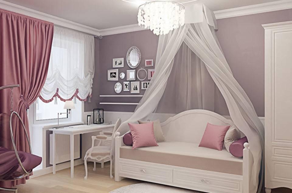 Детская в классическом стиле - дизайн детской комнаты