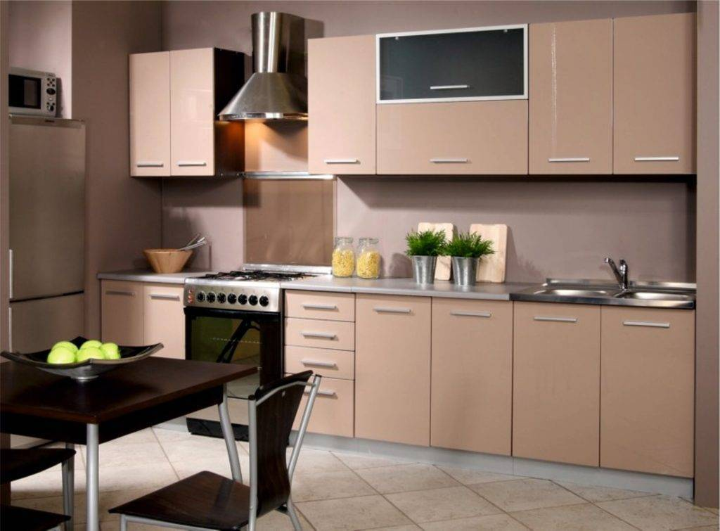 Персиковый цвет в интерьере кухни — советы от эксперта по оформлению, 110+ лучших фото дизайна