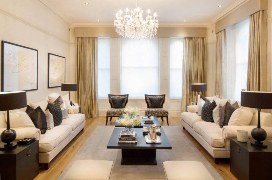 Бежевые обои (60 фото): какие подойдут для стен гостиной, какие цвета мебели сочетаются, полотна с коричневым рисунком в интерьере