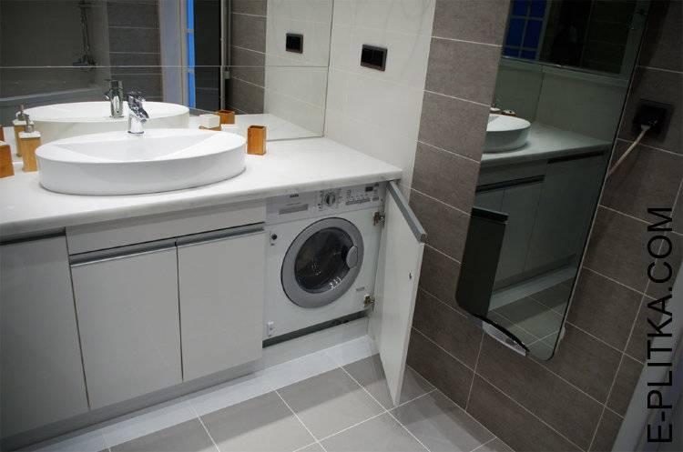 Тумба в ванную комнату со столешницей: варианты моделей и способы установки раковин