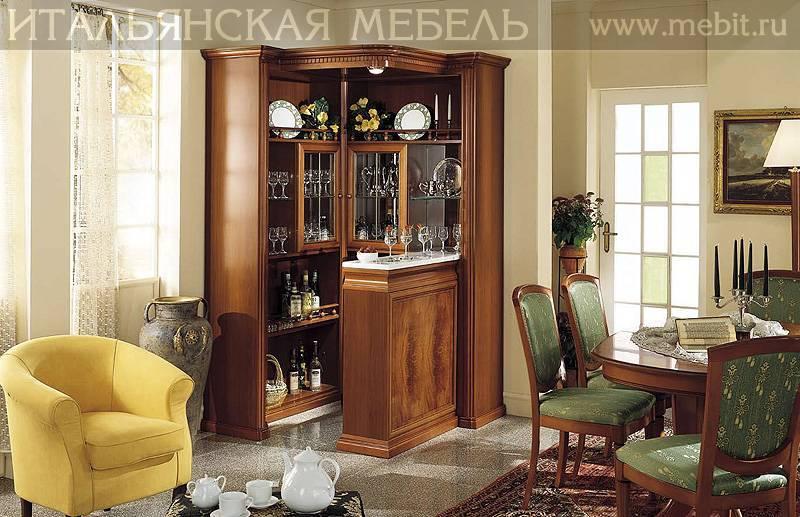 Угловые буфеты: выбираем сервант для посуды на кухню и в гостиную, белые и других цветов шкафы из сосны или массива дерева, красивые кухонные модели с ящиками
