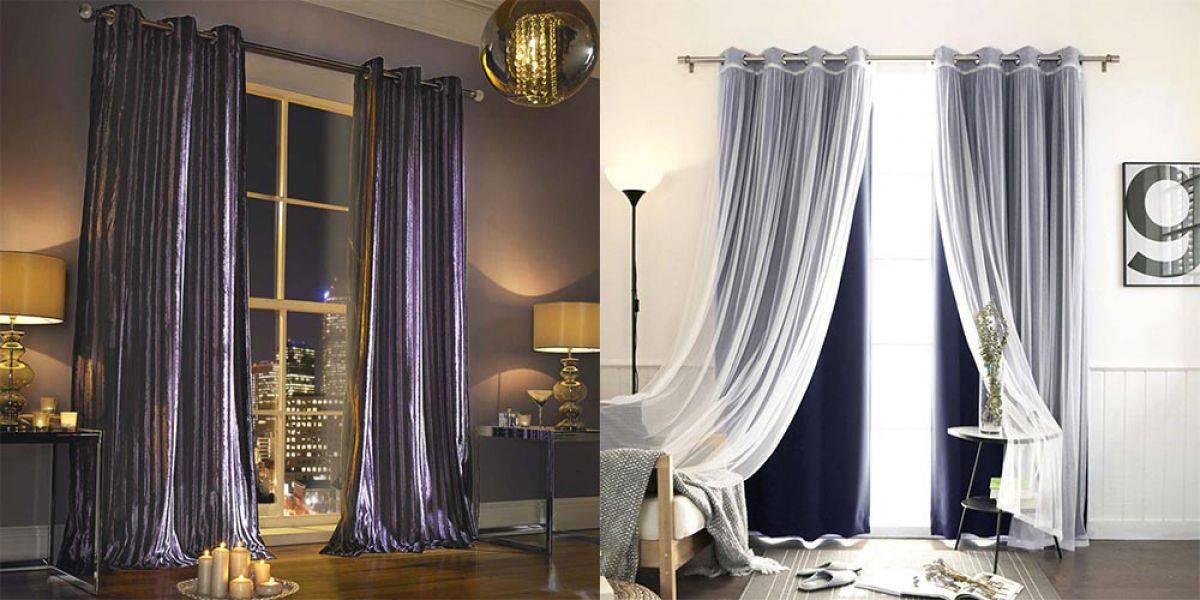 Дизайн штор для спальни - 125 фото лучших идей по сочетанию штор в современном интерьере