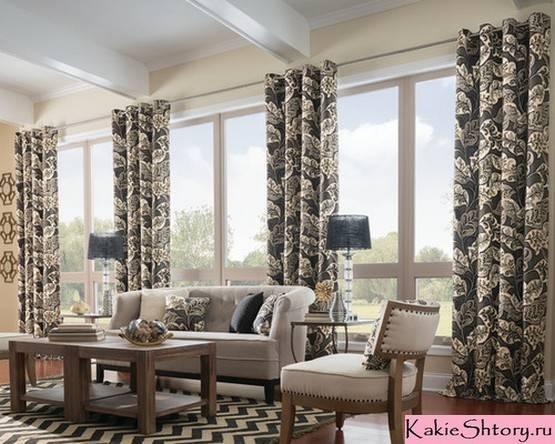 Двойные шторы – стильные дизайнерские решения по оформлению дизайна (55 фото)
