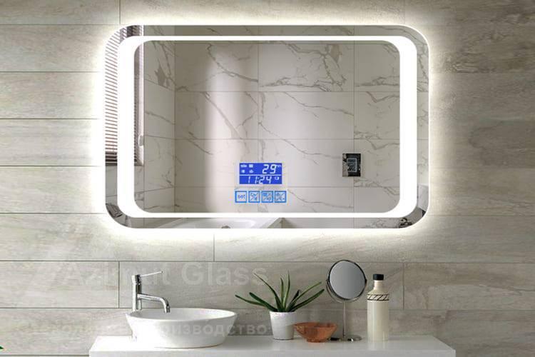 Круглое зеркало в ванную комнату с подсветкой: как выбрать зеркало с led-подсветкой? какие у него особенности?
