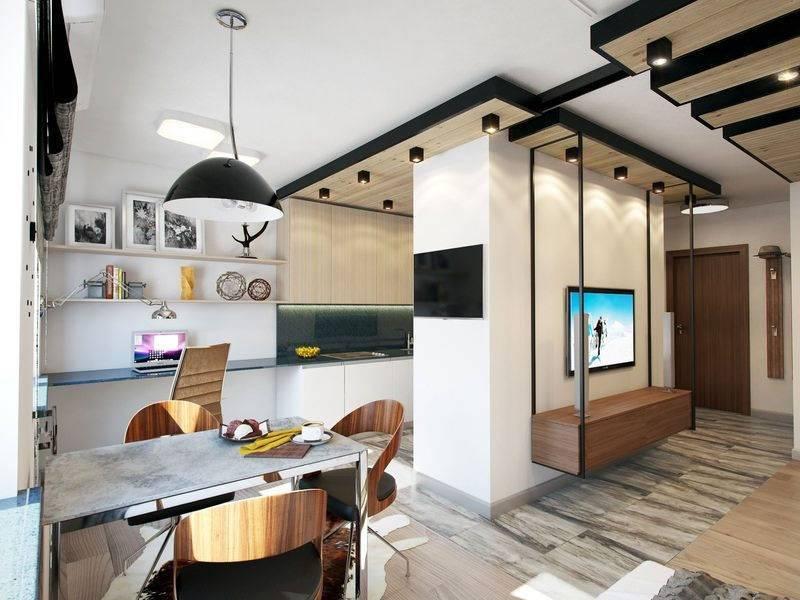 Создаем дизайн проект для однокомнатной квартиры 38 кв. м.