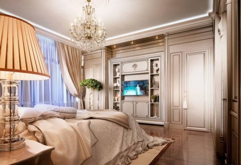 Интерьер спальни в классическом стиле: 66 фото с идеями оформления комнат