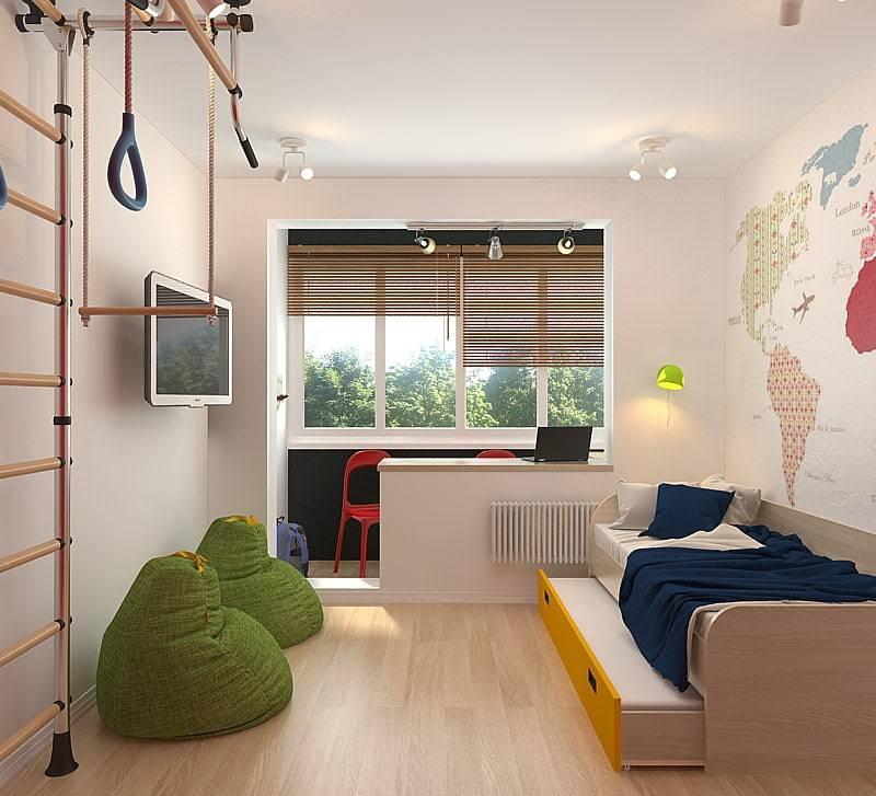 Детская комната для мальчика 12 кв.м.: 75 фото идей дизайна