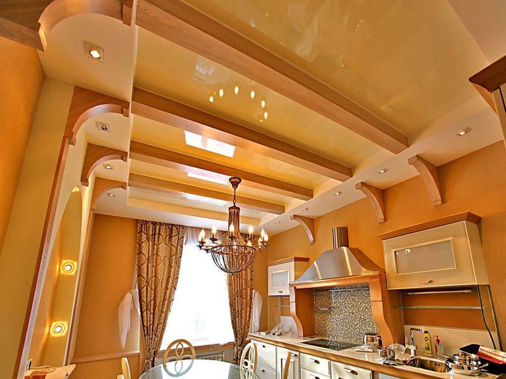 Самые интересные архитектурно-дизайнерские решения для оформления потолка