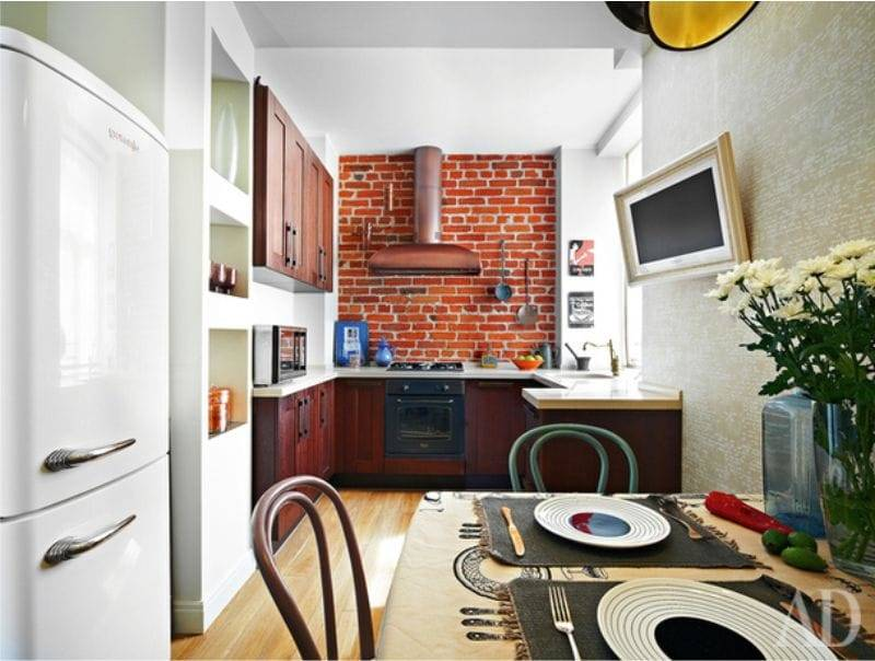Планировка линейной и квадратной кухни 4 кв. м: нюансы планировки
