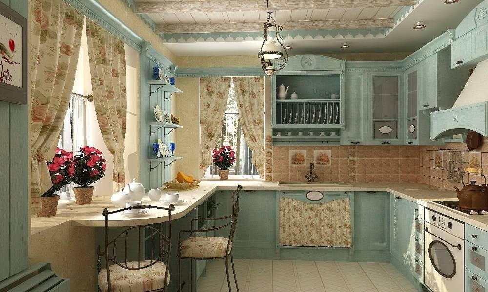 Интерьер кухни в стиле кантри +100 фото идей дизайна, гарнитура