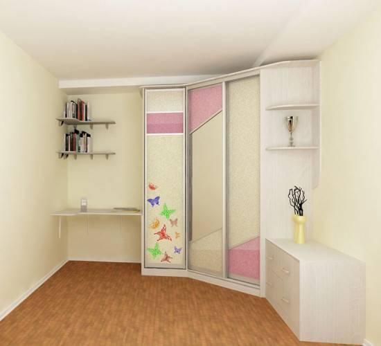 Шкаф-купе в детской комнате: разновидности, преимущества, основные требования к мебели для детской комнаты