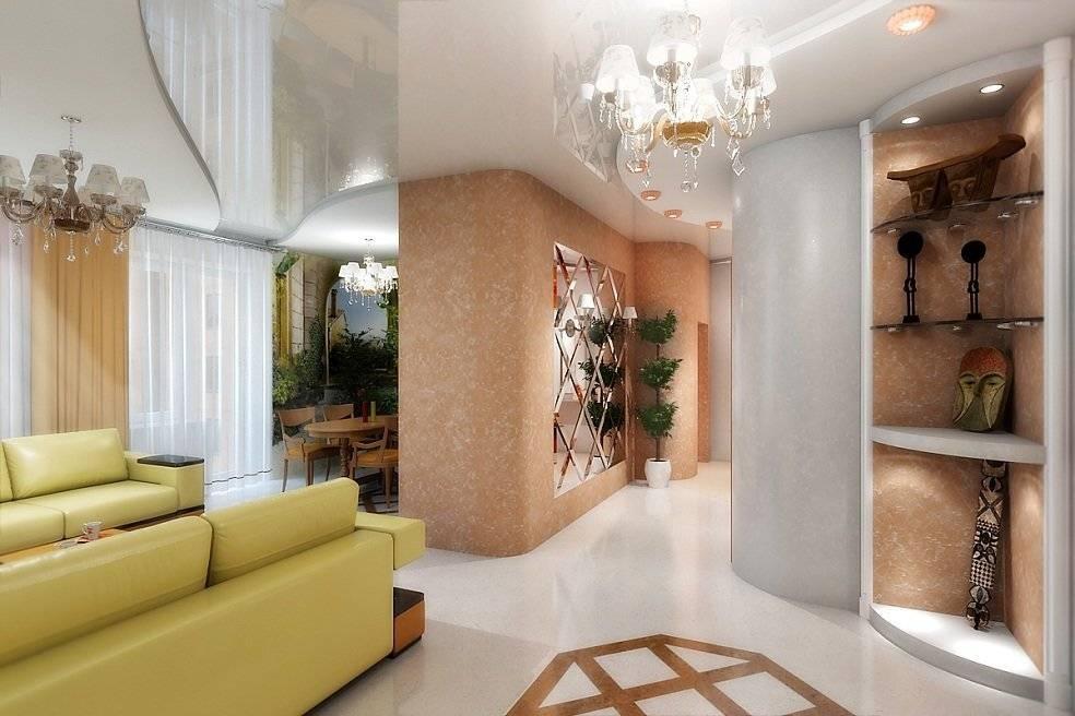 Прихожая совмещенная с гостиной: дизайн на 50 фото