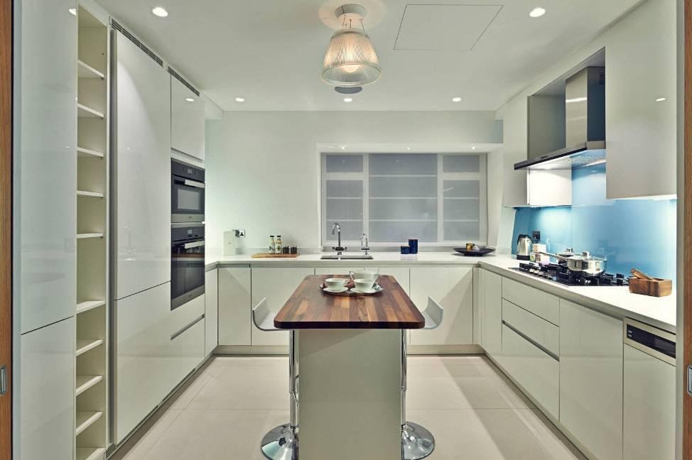 Г-образная кухня (50 фото): планировка интерьера кухни в форме буквы «г», дизайн кухни-гостиной, тонкости выбора кухонного гарнитура, красивые примеры