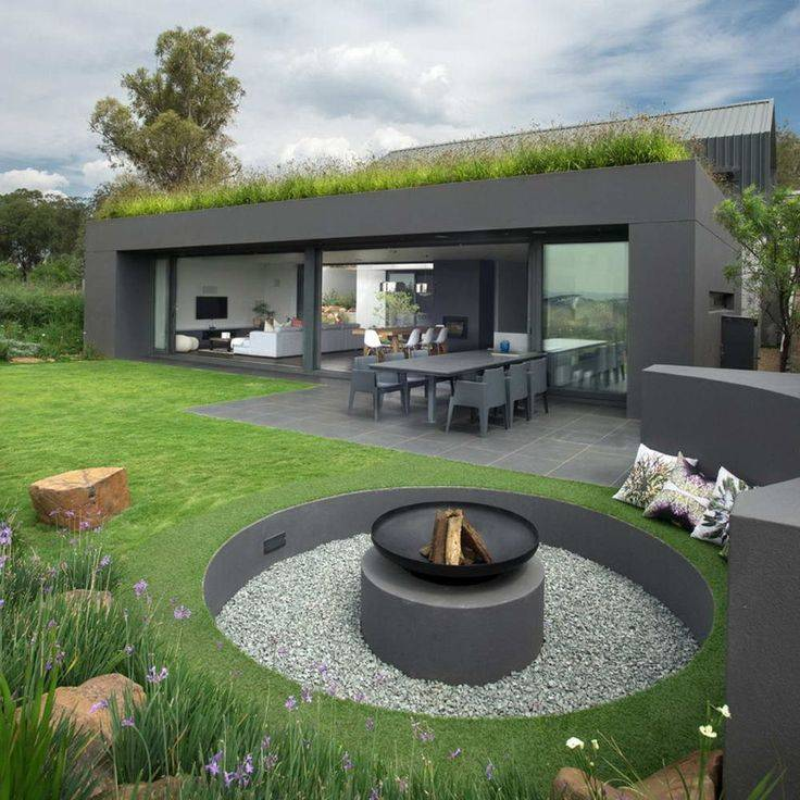 Оригинальные проекты оформления загородного дома