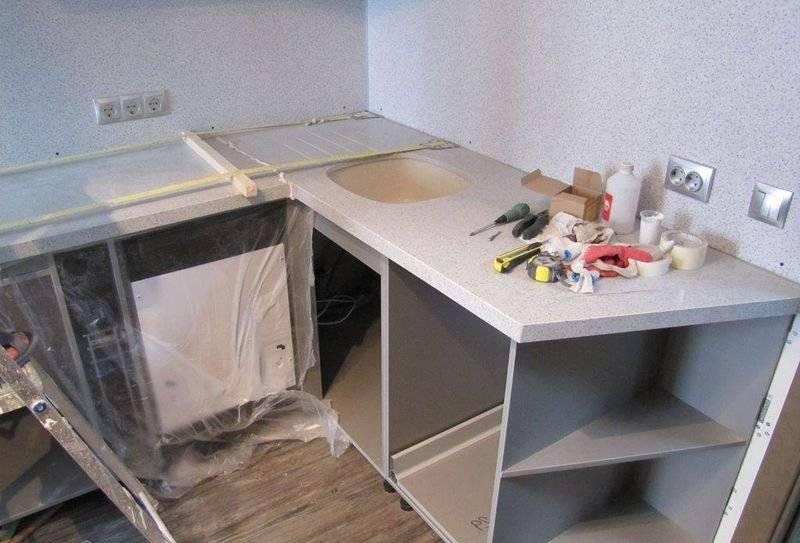 Установка кухни своими руками - пошаговая инструкция по сборке