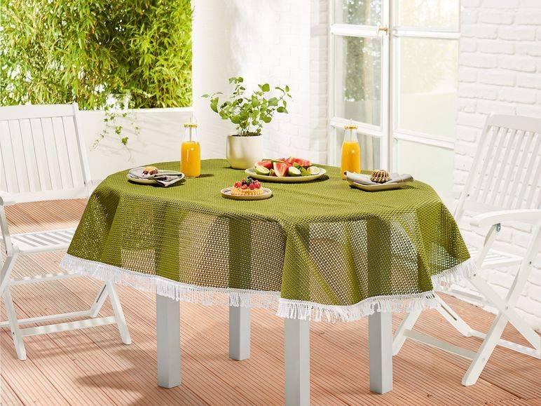 Скатерть на стол для кухни: 80 потрясающих идей для вашего дома