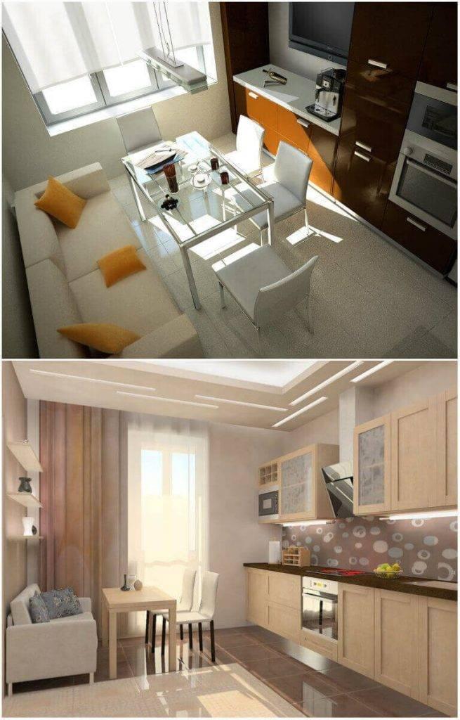 Дизайн кухни 14 кв м — подбираем интерьер под планировку +63 фото