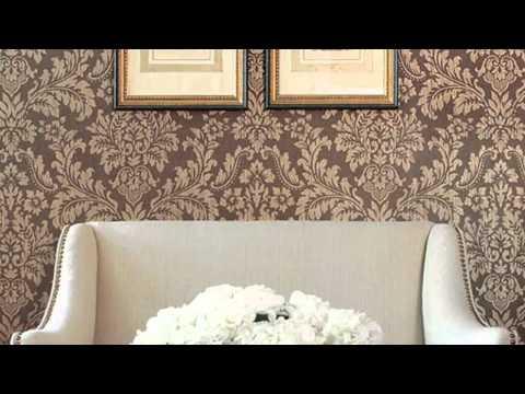 Обои «дамаск»: советы по выбору, принципы декорирования