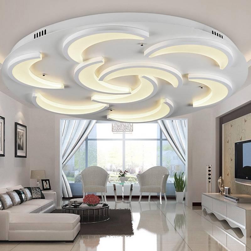 Потолки для гостиной из гипсокартона: фото оригинальных решений и особенности дизайна