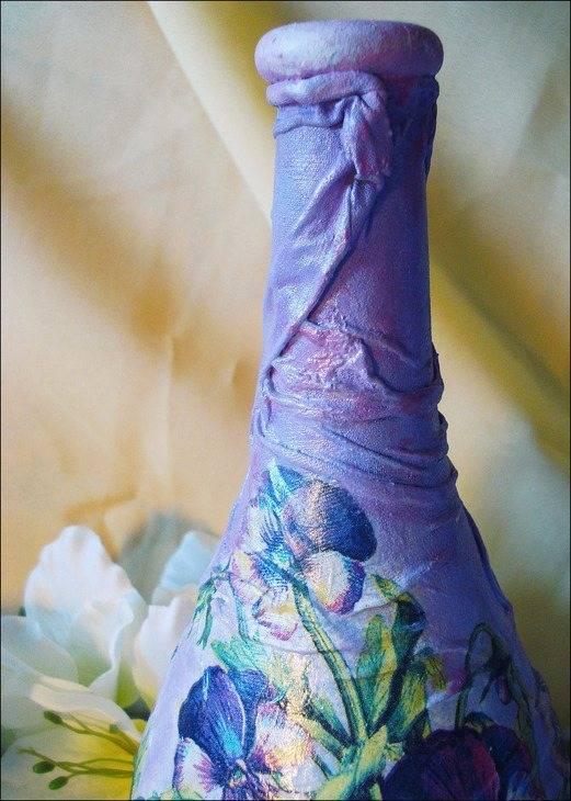 Декорирование бутылок своими руками (50 фото): оригинальные идеи украшения — дизайн, отделка и ремонт квартиры