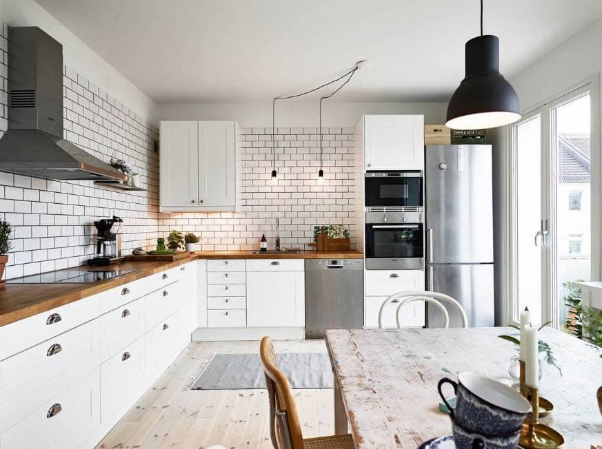 Кухня в скандинавском стиле: 95+ фото интерьеров, идеи дизайна, советы по оформлению