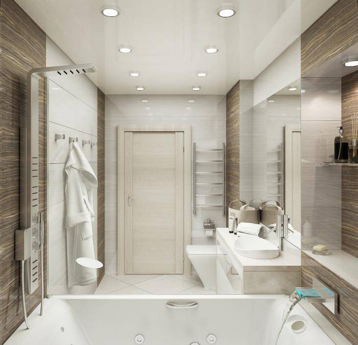 Нюансы дизайна ванной комнаты на 3 кв. м