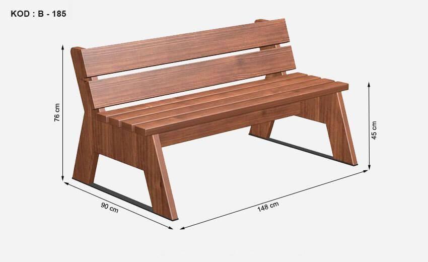 Уличные скамейки: три проекта, которые преобразят ваш сад
