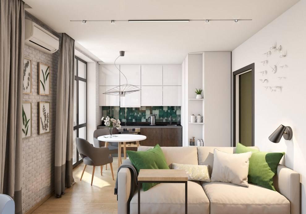 Три квартиры 40 кв. м. с современным дизайном. красивые интерьеры и дизайн