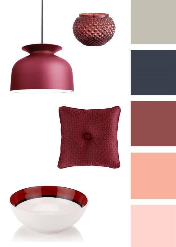 Бордовые стены — идеальный дизайн и варианты использования бордо при оформлении стен (95 фото)