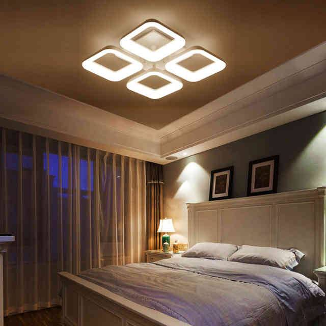 Освещение в спальне: фото проектов дизайна с рекомендациями