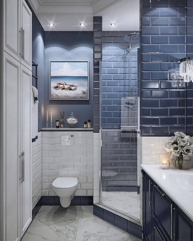 Варианты дизайна ванной комнаты в стиле лофт