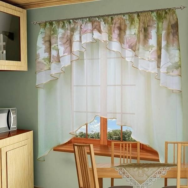 Шторы для маленькой кухни - 65 фото новинок лучшего дизайна штор