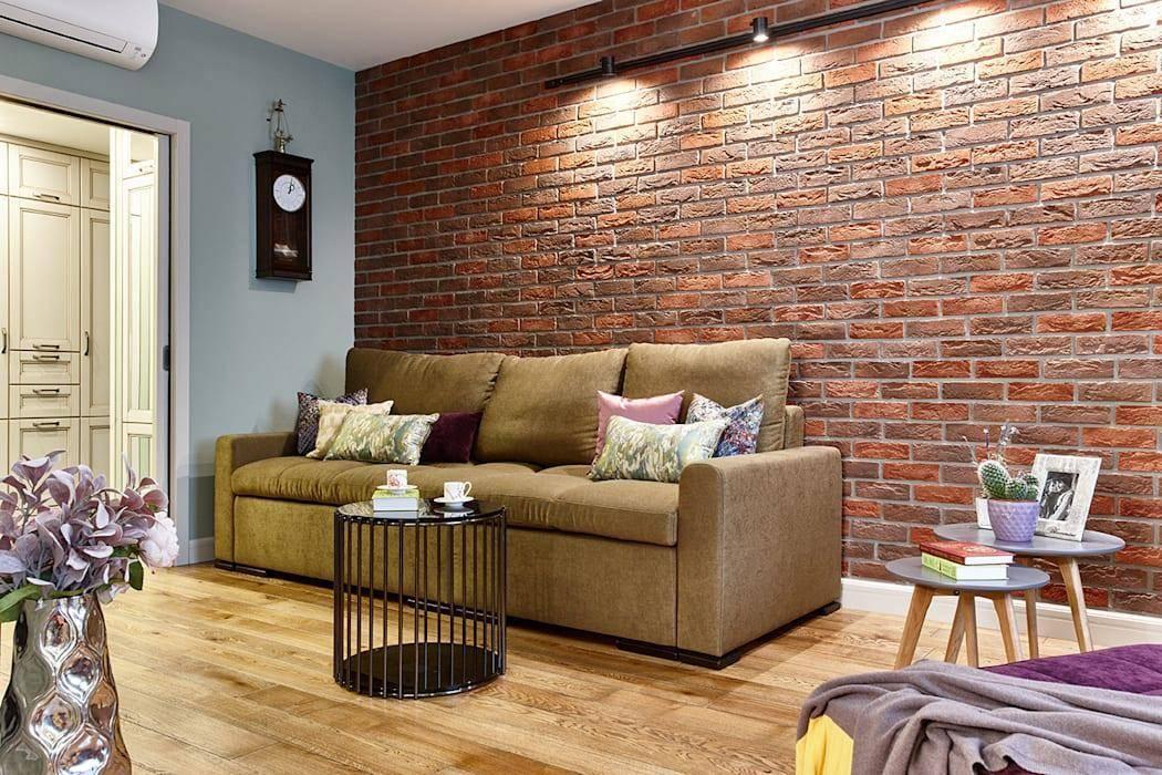 Отделка стен кирпичом — обзор идеально оформления (75 фото)