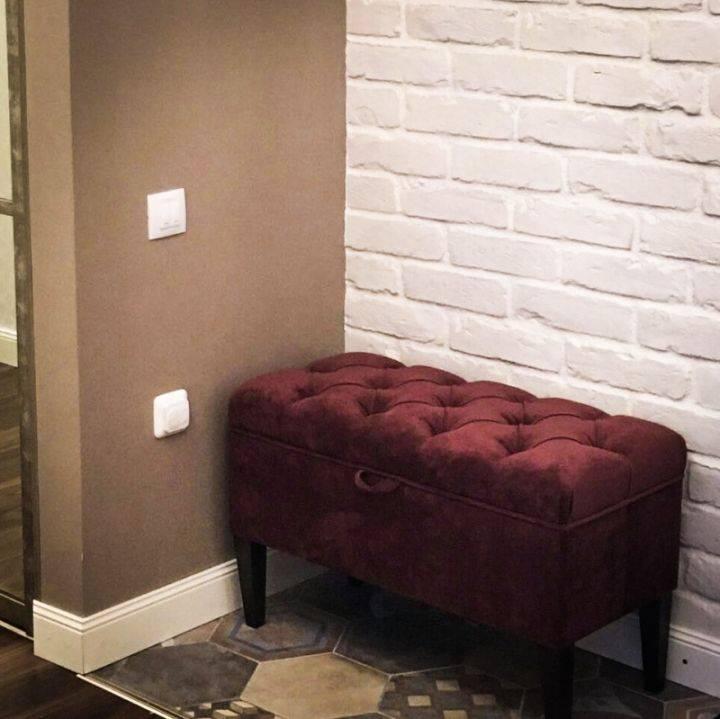 Советы по выбору дизайна и размера пуфиков для прихожей комнаты