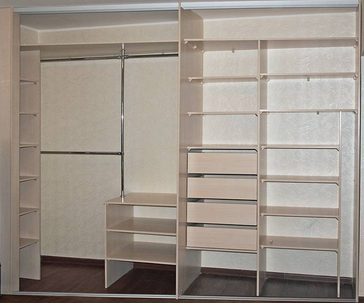 Шкаф купе в спальню: идеи с 35 фото в дизайне интерьера и внутри