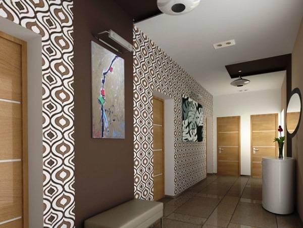 Обои для маленькой прихожей (65 фото): какие модели подойдут в небольшой коридор, как правильно выбрать варианты зрительно увеличивающие пространство в квартире