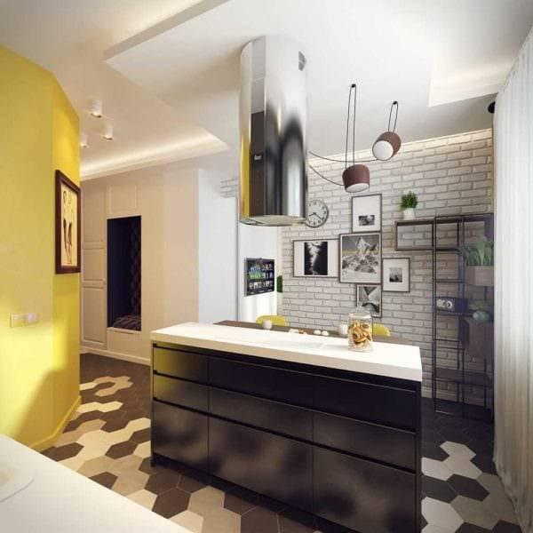 Интересные варианты дизайна кухни 4 кв. м