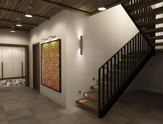 Дизайн коридора с лестницей в доме: рассмотрим варианты