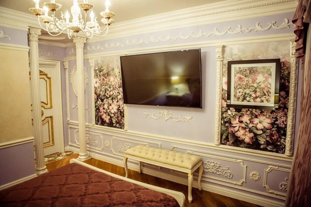 Как сделать лепнину на стены в квартире – идеи для оформления с фото