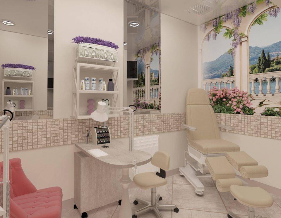 Дизайн салона красоты: принципы оформления, 75 реальных фото