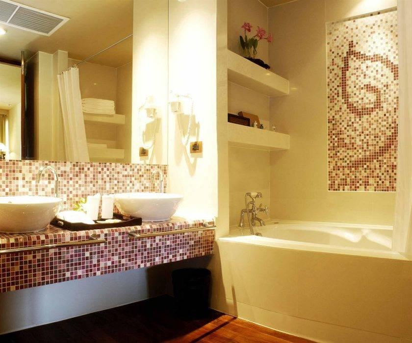 Особенности дизайна ванной комнаты 5 кв.м, варианты планировки