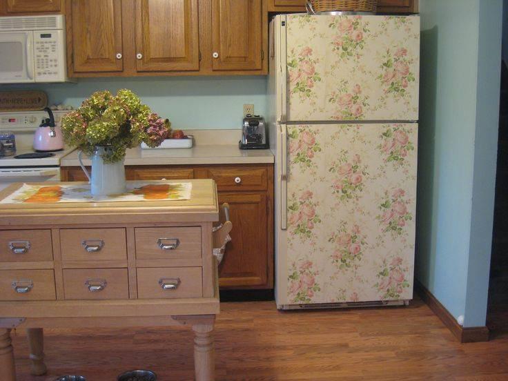 Декор холодильника 70 фото идей дизайна своими руками