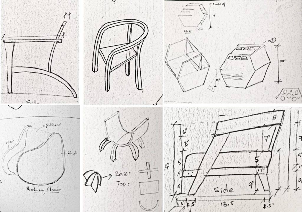 Стул: устройство, материалы и элементы, схемы, разные виды для взрослых и детей